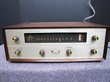 Vintage Fisher model FM 200B tube stereo tuner
