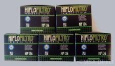 Suzuki GN250 / GZ250 Marauder HifloFiltro Oil Filters (HF136) (5 Pack)