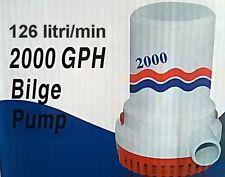 POMPA IMMERSIONE 12 VOLT MODELLO BW M-PUMP 2000GPH PORTATA 126 lt/minuto
