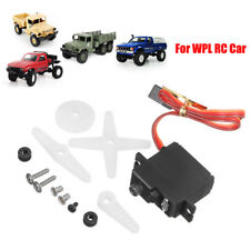 For WPL 1/16 RC Car B14 B16 B24 C14 C24 Upgrade Metal Steering Gear Servo Set