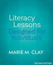 Literacy Lessons: Designed for Individuals 2nd edition Marie Clay