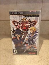 Yu-Gi-Oh 5D's Tag Force 4 (Sony PSP, 2009) BRAND NEW Factory Sealed Play Station