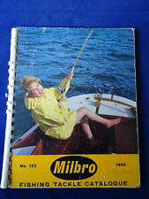 VINTAGE MILBRO TRADE FISHING CATALOGUE FOR 1964 INC. ABU + MITCHELL REEL ADS.