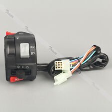 "Motorcycle 7/8"" Handlebar Horn Turn Signals High/Low Beam Headlight Left Switch"