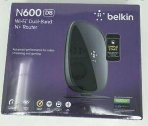 Belkin N600 300 Mbps 4-Port 10/100 Wireless N Router (F9K1102)
