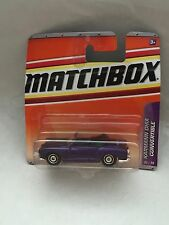 MATCHBOX KARMANN GHIA CONVERTIBLE 22/75