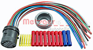 METZGER Cable Repair Kit Door Right Rear Left For OPEL Astra H 2004-2014