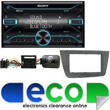 SEAT Leon MK2 05-09 Sony MP3 Usb Aux Bluetooth Doble Din coche estéreo kit de montaje