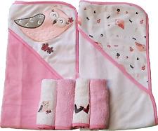 Baby Geschenkset 2st Kapuzenbadetuch Badetuch Kinder Handtuch Geschenk  1942Lama
