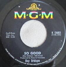 Roy Orbison - So Good / Memories, Vinyl, 45rpm, 1967, MGM, K13685, Near Mint