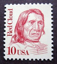 Sc # 2175 ~ 10 cent Red Cloud Issue (cc11)