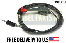JCB PARTS - CABLE ASSY C/W HANDLE FOR VARIOUS JCB MODELS MADE IN EU (910/45400)