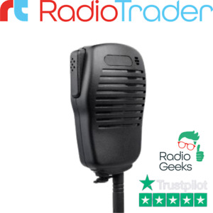 Lightweight Remote Speaker Microphone Compatible With Icom 14 Pin Radios
