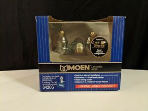"Moen 4"" Center Faucet 84206 Chrome Polished Brass Bathroom Faucet"