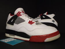 06 NIKE AIR JORDAN IV 4 RETRO GS MARS FIRE RED WHITE BLACK CEMENT 308498-162 7Y