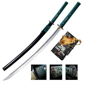 "Cold Steel Dragonfly Katana Sword 41.5"" 48oz 1050 88DK"