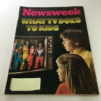 Newsweek Magazine: February 21 1977 - What TV Does To Kids