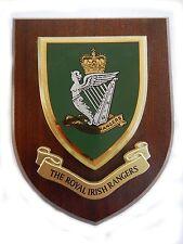 Royal Irish Rangers Military Wall Plaque uk hand made for MOD