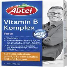 ABTEI Vitamin B Komplex forte überzogene Tab. 50 St PZN 636287