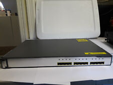 Ws-C3750G-12S-Sd Dc Powered Switch - Used - Working Pull - Ios Ipservices 12.2