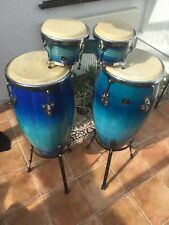 More details for congas & bongos & stands and bags lp latin percussion