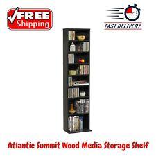 NEW Atlantic Summit Wood  Stand Holder Media Storage Shelf Bookcase, 74735727