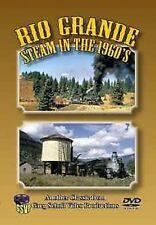 Rio Grande Steam in the 1960s - Greg Scholl Video DVD