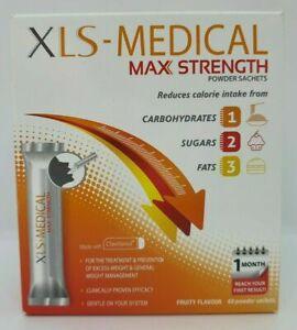XLS-MEDICAL MAX STRENGTH TRIPLA AZIONE - 60 BUSTINE-UN MESE DI FORNITURA