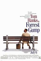Forrest Gump Movie POSTER 27 x 40 Tom Hanks, Sally Field, A