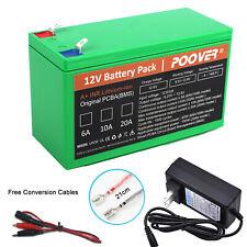 12v 6Ah Battery Rechargeable LIFEPO4 Li-ion Battery 4S1P Replace SLA UPS Battery