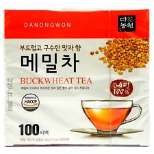 Korean Danongwon Tartary Buckwheat Tea 100 Tea bags (herbal Healthy)