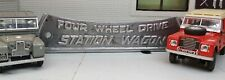 Land Rover Series 2 2a 3 88 109 Cast Rear Tub Station Wagon Badge 306407 STC3437