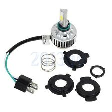 Universal H4 6500K COB LED Motorcycle Hi/Lo Fog Lamp Headlight Bulb For Moto HW