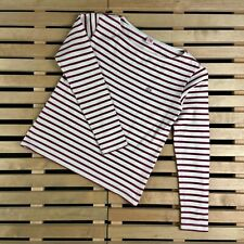 Womens Jumper Long Sleeve lacoste Live Size S Striped