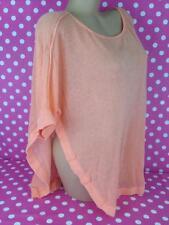 VICTORIA'S SECRET sheer swim beach bikini swimsuit cover up shirt poncho L
