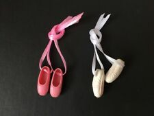 Pedigree Sindy ballet shoes added ribbons ballerina doll dance pumps1970s 1980s