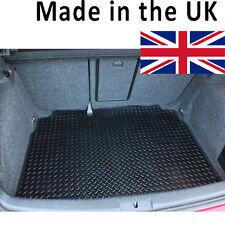 Skoda Fabia Hatchback MK II 2007-2014 Fully Tailored Black Rubber Car Boot Mat
