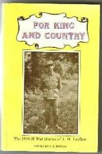 For King And Country Edited by J. G. Rogers (Paperback, 1985)
