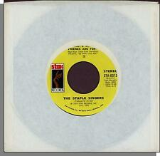 "The Staple Singers - That's What Friends Are For + City In The Sky - 7"" Single!"