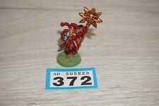 Warhammer 40k Chaos Space Marine Khorne Icon Standard Bearer Metal LOT 372