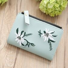 Wallet for Women Small Compact Credit Card Holder Mini Bifold Pocket Purse