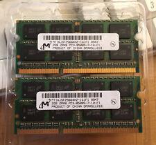 4 Go   2 barettes mémoire de 2 GO pc8500 pour MBP soit 4 Go