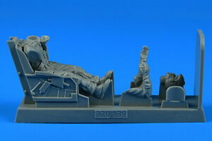 1/32 USAF F-86 Sabre Pilot with Ejection Seat for Kinetic/Hasegawa/Italeri