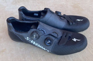 Specialized S-Works 7 Road Cycling Shoes - Size EU 44.5/ US 11, Black