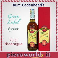 1 bott. rum CADENHEAD'S rhum GREEN LABEL ron NICARAGUAN 8 y. cl. 70