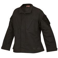Military ACU Tactical Response Uniform Shirt by TRU-SPEC 1288 - BLACK