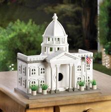 President Washington Dc patriotic White House fairy garden Bird house statue new
