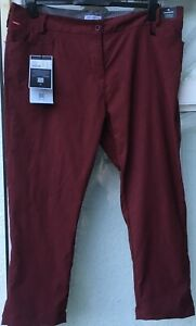 NWT Craghoppers Nosilife Stretch Clara Crop Trousers in Wildberry Size 20
