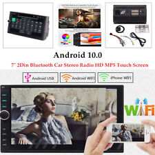"Android 10.0 Car 7"" MP5 Player Bluetooth Touch Screen GPS Stereo Radio Durable"