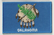 PP-368 Embroidered Badge Badge Patch Flag Patch Oklahoma Fusible
